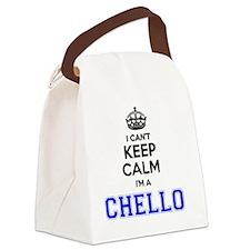 Unique Chello Canvas Lunch Bag