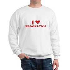 I LOVE BROOKLYNN Sweatshirt