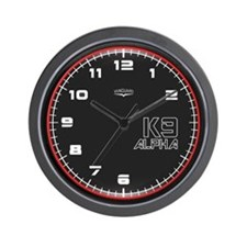Vanguard K9 Alpha Wall Clock