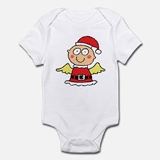 Santa's Little Angel Infant Creeper