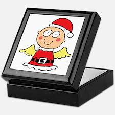 Santa's Little Angel Keepsake Box