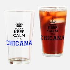 Cute Chicana Drinking Glass