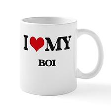 I Love My BOI Mugs