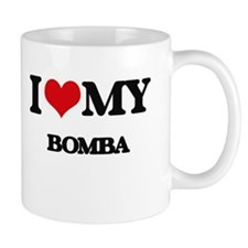 I Love My BOMBA Mugs