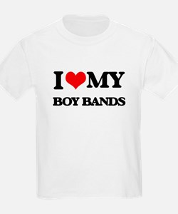 I Love My BOY BANDS T-Shirt