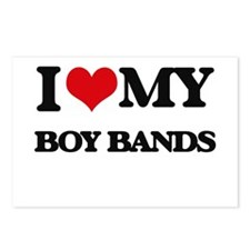 I Love My BOY BANDS Postcards (Package of 8)
