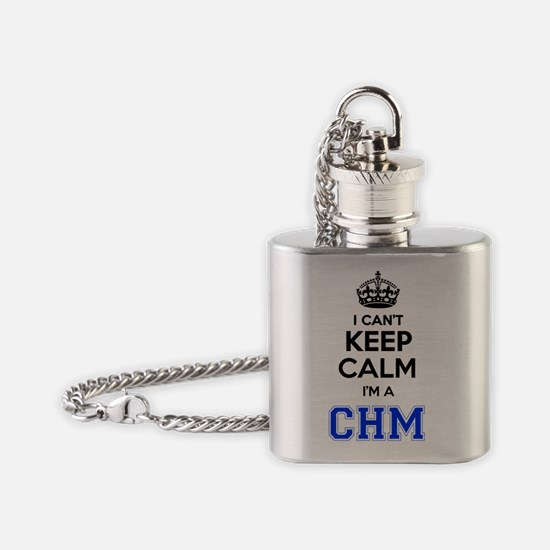 Cute Chm Flask Necklace