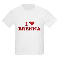 I LOVE BRENNA T-Shirt