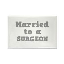 Married to a Surgeon Rectangle Magnet