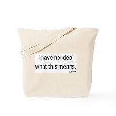 Japanese Design Tote Bag