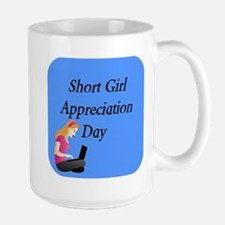 Short Girl Appreciation Day 3x Mugs