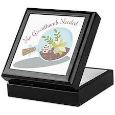 No Greenthumb Needed Keepsake Box