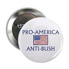 "America Anti-Bush 2.25"" Button (10 pack)"