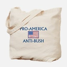 America Anti-Bush Tote Bag