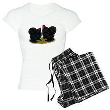 Cochins Black Bantams Pajamas