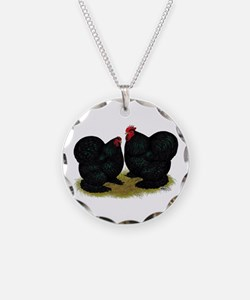 Cochins Black Bantams Necklace