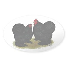 Cochins Black Bantams Decal
