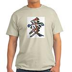 Graffiti Love Ash Grey T-Shirt