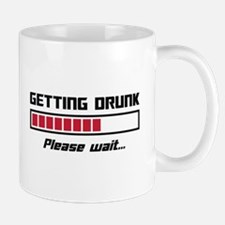 Getting Drunk Please Wait Loading Bar Mugs