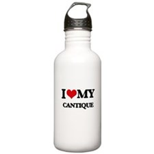 I Love My CANTIQUE Water Bottle