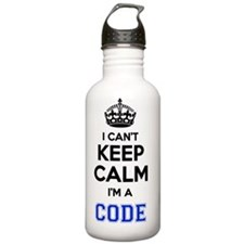 Unique Keep to the code Water Bottle