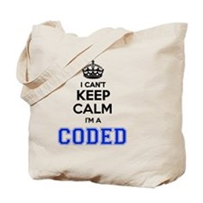Funny Keep to the code Tote Bag
