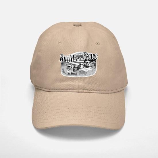 Build The Fence Baseball Baseball Cap