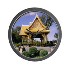 Thai Pavilion Wall Clock