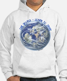 One World - Learn to Share Hoodie