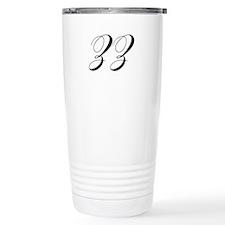 ZZ-cho black Travel Mug