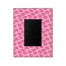 Girly Pink Lips Picture Frame