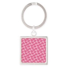 Girly Pink Lips Keychains