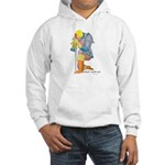 The Knight Templar kneeling Hooded Sweatshirt