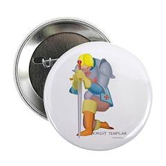 The Knight Templar kneeling Button