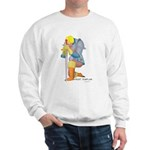 The Knight Templar kneeling Sweatshirt