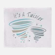 Its a Twister Throw Blanket
