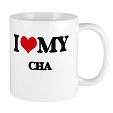 I Love My CHA Mugs