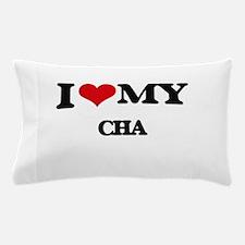 I Love My CHA Pillow Case