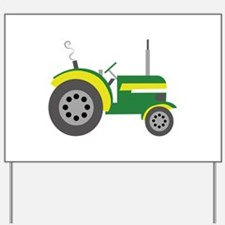 Tractor Yard Sign