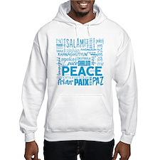 Peace Word Cloud Hoodie