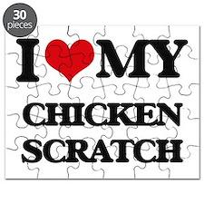 I Love My CHICKEN SCRATCH Puzzle