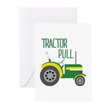 Tractor Pull Greeting Cards