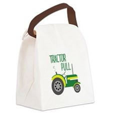 Tractor Pull Canvas Lunch Bag