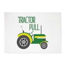 Tractor Pull 5'x7'Area Rug
