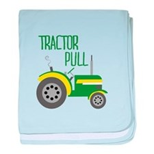 Tractor Pull baby blanket