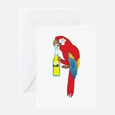 PARTY PARROT Greeting Cards