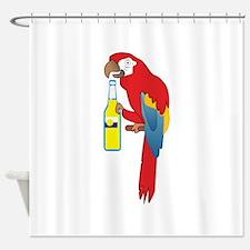 PARTY PARROT Shower Curtain