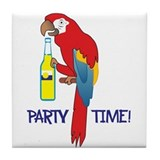 Parrot head Drink Coasters