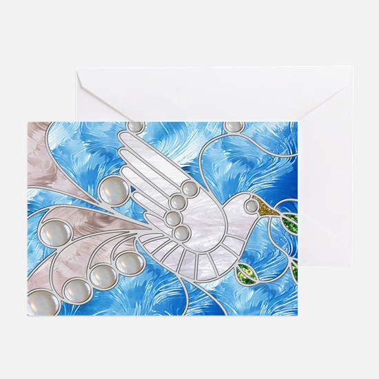 Peace Dove Greeting Cards (6)