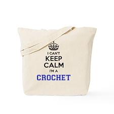 Unique Keep calm crochet Tote Bag